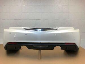 2013-2018 cadillac ats sedan 2.0 , 3.6 rear bumper with sensors & 3 modules #14