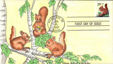 #2489 Red Squirrel Whiddon Fdc (28619932489001)