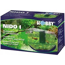 Hobby Nido 1 Spawning Breeding Box Tank Trap Baby Fish Fry Hatchery Aquarium