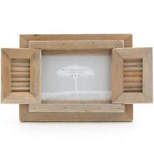 Shabby Chic Treibholz Holz Foto Rahmen Mit Fensterläden Für 15.2cmX10.2cm Bild