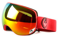 NEW 2016 Dragon X2 Goggles-Bitter Red-Red Ion+Yellow Red Ion-SAME DAY SHIPPING!
