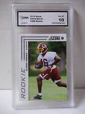 2012 Score Alfred Morris Rookie GMA Gem Mint 10 Graded Football Rookie Card #386