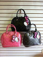 Sanrio Hello Kitty Embossed Handbag Black Or Gray by Loungefly/Sanrio