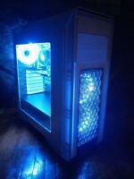 Custom Build Gaming PC Desktop Computer Intel i5 3.30GHz,8GB,Win10,WIFI, GT 2GB