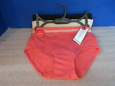 MARILYN MONROE~3 Pack Coral, Beige, Black BRIEFS PANTIES~Women's Small~9425~NWT