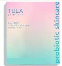 TULA Skin Care Major Glow Cooling & Brightening Hydrogel Sheet Mask x3