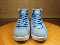 JORDAN Air Retro 7 Pantone (304775-400) University UNC Blue White Men's SIZE 8.5
