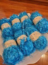 Puffy Yarn in Blues #A-04