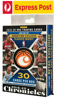 2019/20 Panini Chronicles NBA Basketball Cards Hanger Box ZION WILLIAMSON RC JA?