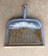 Vintage Used Metal J V Reed Dust Pan