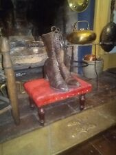 """Pair of Antique """"Dalsimer Philadelphia"""" Women's Leather Laced Boots/Shoes"""