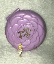 Vintage Polly Pocket Bluebird Ballerina Grand Ballet Pink Compact Complete Doll