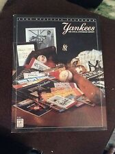 New York Yankees 1989 Yearbook - Excellent Condition