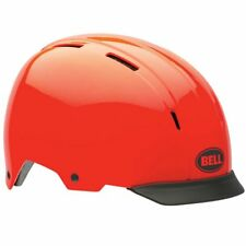 Bell Intersect Cycling Helmet Infrared Red Helmet Black Removable Visor Small
