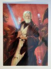 Topps Star Wars Finest trading card - Obi-Wan Kenobi #37 (1996)
