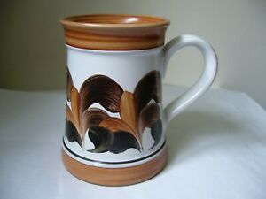 DENBY HAND PAINTED MUG/TANKARD VERY GOOD USED CONDITION P