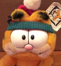 GARFIELD Christmas plush Jim Davis tabby cat 10-Year Anniversary Dakin doll 1988