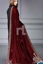 Beautiful Velvet Shawl By Nishat Linen Gold