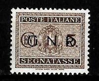 G.R.N. - 1944 - Segnatasse - cent 5 - sassone 47 - sovrastampa nero