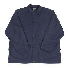 Vintage NAUTICA Trench Coat | Retro Jacket Pea Mac Collared Zip 80s 90s