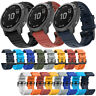 26mm Silikon Armband Uhrenarmband für Garmin Fenix 6X/5X/5X Plus/3 HR/Sapphire