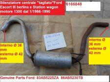 Silenziatore centrale Ford Escort berlina, Giardinetta, cabriolet 5022533 362609