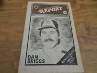 "San Diego Padres Report ""May 15,1979"" Dan Briggs - Free Domestic Shipping"