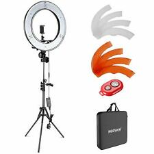 LED Ring Light 240 Kit 18in/48cm 55W Dimmable Lighting Camera Photo Studio 5500K