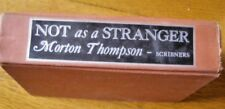 Not as a Stranger by Morton Thompson (1954, Hardback) Free shipping