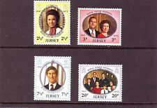 Jersey Mi 73-76 Royal Silver Wedding 1972 MNH Postfris