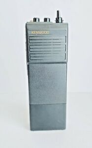 """Kenwood Handheld Vintage VHF FM Transceiver Radio Model TK-210 KNB-3A Japan 8"""""""