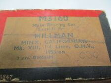 HIllman main engine bearings 1955 on, Hillman Minx, Californian 1.4 litre .030