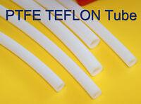 5m Length OD 3mm ID 1mm PTFE TEFLON Tubing Tube Pipe hose