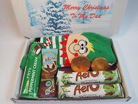 Personalised Christmas Mens Hamper Socks Lindt Reese's Cadbury Dad Uncle Brother