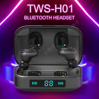 Mini TWS Twins True Wireless Auricolare In-Ear Bluetooth V5.0 Auricolari Cuffie