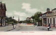 Manor Road Wallington unused old pc Ernest A Porter