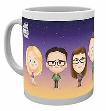 The Big Bang Theory Cast TV sitcom Geek Tasse Thé Mug Café Tasses