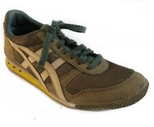 Onitsuka Tiger Green Camo Suede Running Hipster Sneakers Mens Shoes 6.5