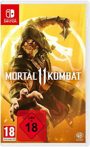 Mortal Kombat 11 - Nintendo Switch Spiel - NEU OVP - UNCUT