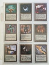 Magic the Gathering: 4th Edition (1995) complete set (378 cards)