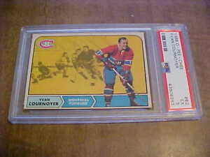 1968-69 O-Pee-Chee Yvan Cournoyer (HOF) Card PSA 5 Excellent