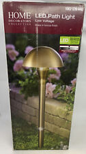 New listing Home Decorators Collectors Led Path Light 1002 539 446 Brass Finish Low Voltage