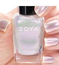 ZOYA ZP835 LEIA opalescent white shimmer nail polish~PETALS Collection .5 oz NEW