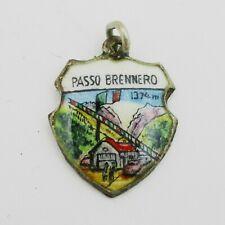 Nice Silver Passo Brennero Charm