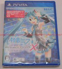 New PS Vita Hatsune Miku Project DIVA X Japan F/S PlayStation VLJM-35264 PSV