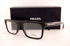 Brand New Prada Eyeglasses Frames 06R 06RV 1AB 1O1 BLACK for Men SZ 55 Authentic