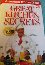 Great Kitchen Secrets (As Seen on TV) by Chef Tony Notaro