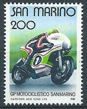1981 SAN MARINO GRAN PREMIO MOTO MNH ** - ED