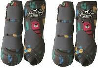 Professionals Choice Equine Sports Medicine Ventech Elite Leg Boot, Set of 4