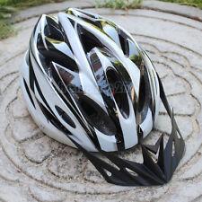 NOIR VÉLO CYCLISME SPORTS BICYCLETTE HOMME ADULTE sécurité 18 trous Casque avec